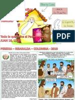 HOJITA EVANGELIO NIÑOS LA SOLEMNIDAD DE LA SANTÍSIMA TRINIDAD C 19 COLOR