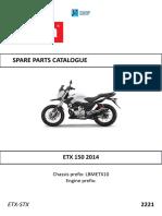 Etx 150 2014 Katalog Delova