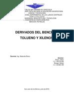 Informe en Pareja Derivados Btx