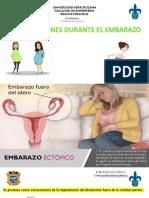 , Complicaciones en El Embarazo