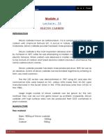 Lecture 33 Silicon Carbide