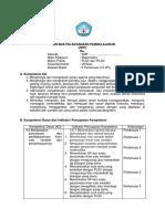 Contoh RPP (Literasi-PPK)