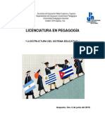 Sistema Educativo de America Latina.