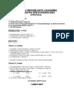 Paediatric BFM (Standard Risk) M Protocol