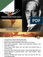 FENOMENOLOGI HUSERL