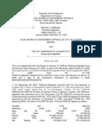 Assessor Disputed Assessment CASE MUST READ