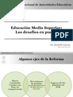 Educación Media Superior Los Desafíos en Puerta