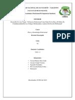 Trabajo de DEONTOLOGIA  Y ETICA PROFESIONAL