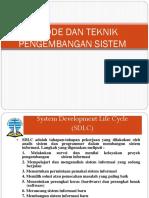 Session II - Metode dan Teknik Pengembangan Sistem.pptx
