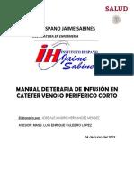 Manual de Terapia De Infusión