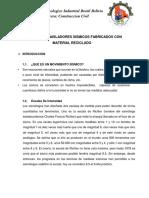 Memoria Aisladores Sismicos Bolivia Brasil