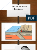 Teoría de Las Placas Tectónicas Karla y Consuelo