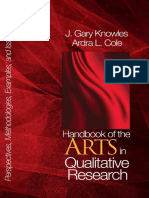 Handbook of the Arts in Qualitative Research Perspectives Methodologies Examples and Issues