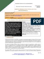 MANTENIMIENTO PRODUCTIVO TOTAL EN UNA MICRO-EMPRESA