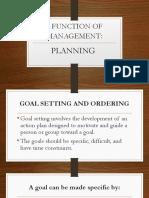 FOM - Planning