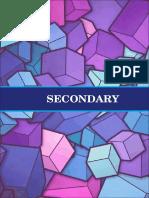 Secondary Activities 2018