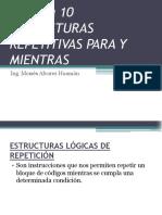 SEMANA 10 Estructuras Repetitivas (1)