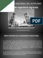 CLASE 1 Historia Análisis Estructural