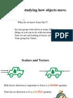 scalar vectors