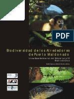 Biodiversidad de Los Alrededores de Puerto Maldonado