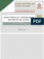 Características y Propiedades Mecánicas Del Acero