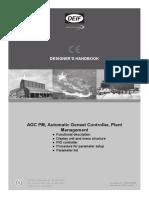 DEIF AGC PM Designer's Handbook 4189341008 UK