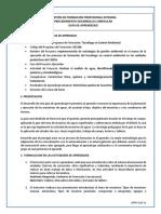 Gfpi-f-019 Guia de Aprendizaje Determinar Puntos de Muestreo