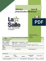 PUD - Instalaciones Automatizadas Eléctricas.