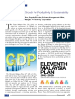 Inclusive Green Growth for Productivity & Sustainability