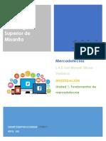 U1 Fundamentos de Mercadotecnia LSS