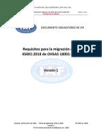 IAF MD 22-2018