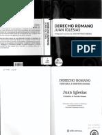 Derecho Romano Juan Iglesias
