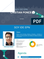 Soy Ide Cristian Ponce