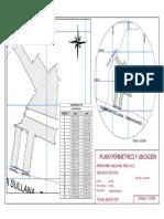 Plano Perimetrico y Ubicacion - Agosto 2017 -Wgs 84-Presentación1