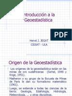 Introduccion a La Geoestadística