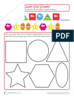 Super Shapes Pattern