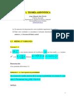 07A. Convergencia TeoriaAsintotica LeyDebilDelosGrandesNumeros TeoremaLimiteCentral