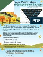 Juan Carlos Áviles - Movilidad Sostenible en Cuenca SIM