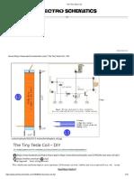 The Tiny Tesla Coil