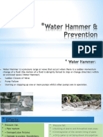 Knowledge Sharing Water Hammer