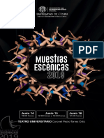 Muestras Escénicas 2019