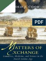 Matters of Exchange- Harold Cook