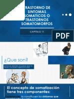 Trastorno de Sintomas Soaticos o Trastornos Somatomorfos