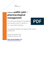 Neuropathic Pain Pharmacological Management Full Guideline 191621341