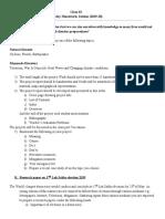 Holiday Homework Class IX 20190530122220276
