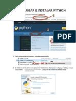 Descarga e Instalacion de Python (Autoguardado)