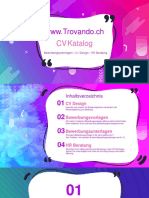 Www.trovando.ch CV Katalog