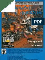 MERP 1st Ed. Settings - ICE #3400 - Sea Lords of Gondor, Pelargir & Lebenin