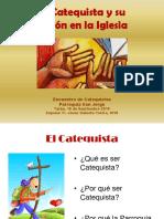 El Catequista y Su Misión en La Iglesia