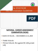 2 - 2018 NCAE Guidelines